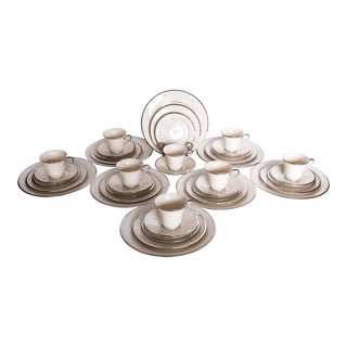 Lenox China Solitaire Pattern Service Set - 40 Pieces For Sale