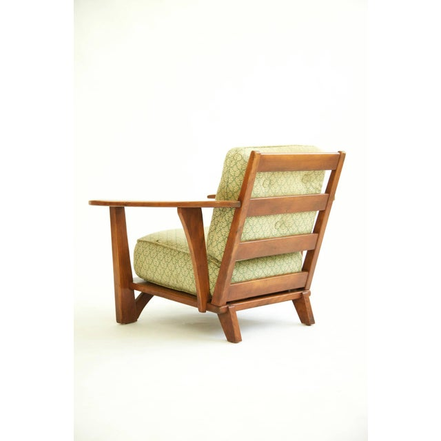 Maple Herman DeVries Paddle-Arm Lounge Chair For Sale - Image 7 of 10
