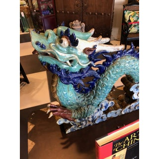 Chinese Ceramic Dragon 2 Pc. Sculpture Preview