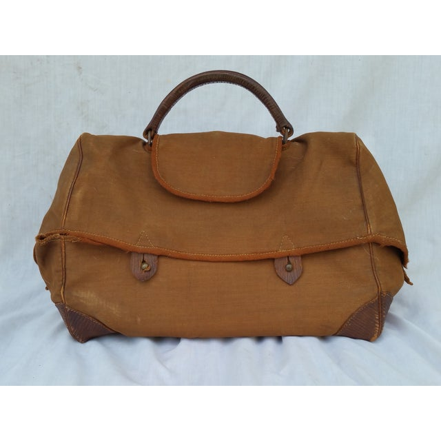 Victorian Leather Gladstone Bag - Image 3 of 7