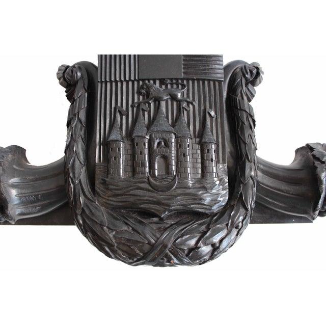 Antique Coat of Arms Pediment - Image 2 of 5