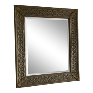 Organic Modern Wooden Mirror For Sale