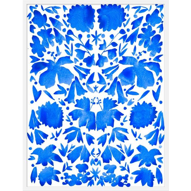 "Medium ""Oxacan Blues"" Print by Kate Roebuck, 25"" X 31"" For Sale"