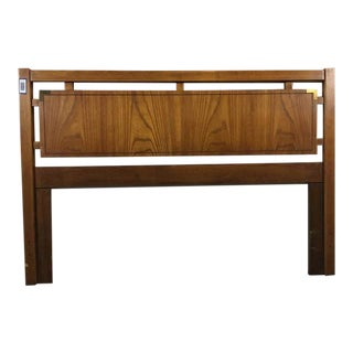 Huntley by Thomasville Carved Wood Queen Size Headboard