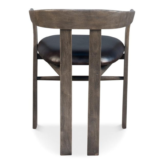 Not Yet Made - Made To Order Sarreid Ltd Rift Dining Chair For Sale - Image 5 of 8
