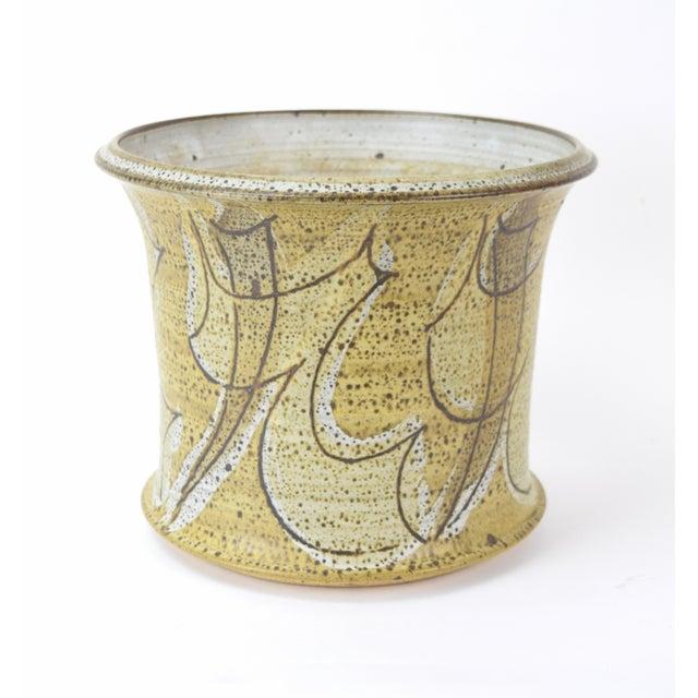 Vintage Alan Vigland Mid Century Modern Studio Pottery Vase For Sale - Image 11 of 11