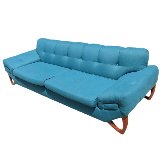 Mid-Century Modern Sofa in the Manner of Adrian Pearsall - Image 1 of 8
