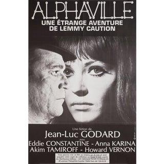 Alphaville R1982 French Half Grande Film Poster For Sale