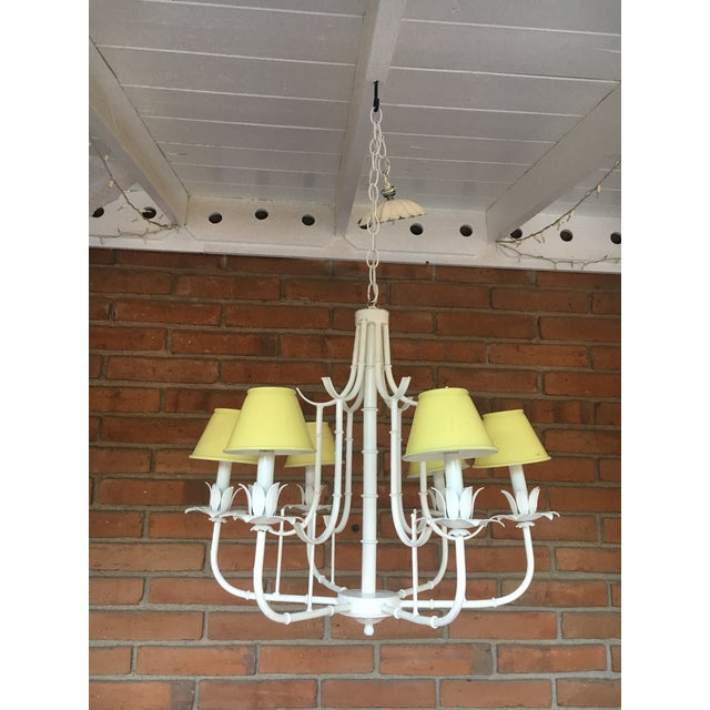 1960s Pagoda Chandelier For Sale - Image 5 of 10