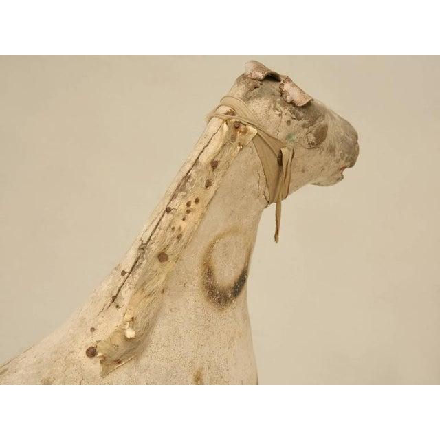 Antique Child's Papier Mâché Horse - Image 4 of 10
