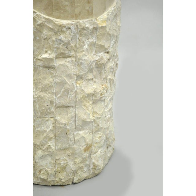 White Marquis Collection Beverly Hills Snuggling Couple Fossil Ivory Stone Sculpture For Sale - Image 8 of 11