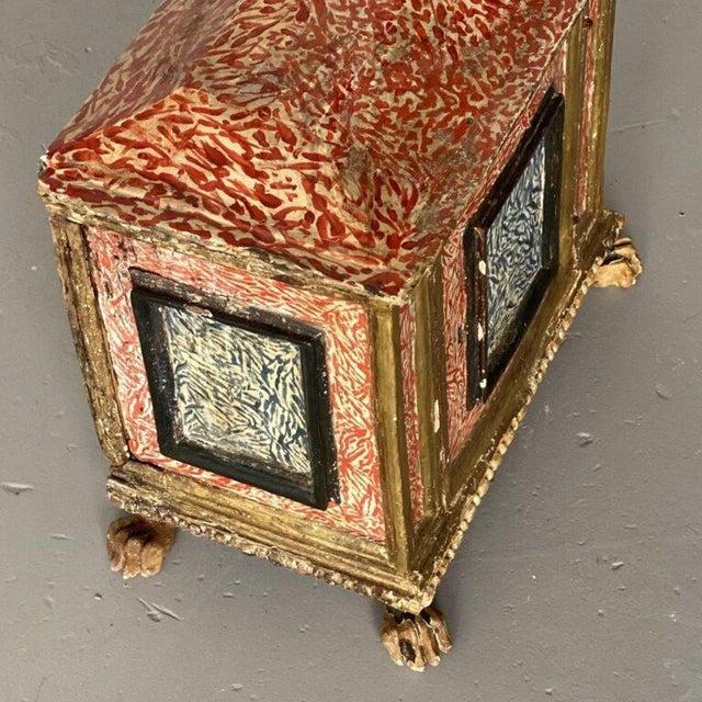 19th Century Miniature Italian Cabinet For Sale - Image 4 of 9