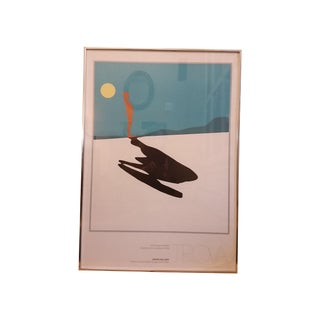 Vintage 1978 Trova Gallery Exhibit Poster For Sale