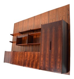 Image of Mid-Century Modern Wall Cabinets