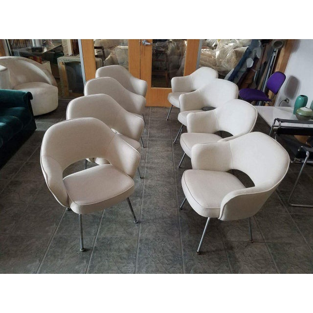Saarinen for Knoll Executive Armchairs - Set of 6 - Image 2 of 6