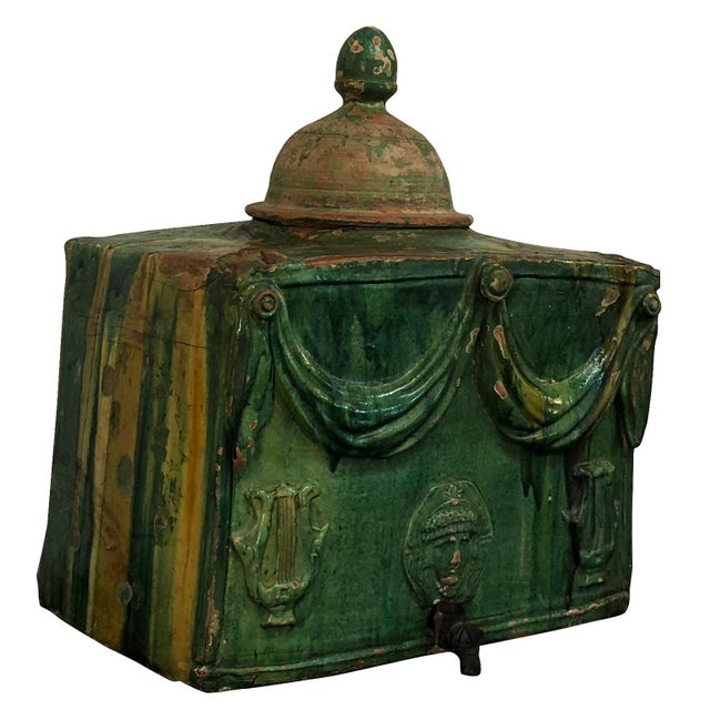 Baroque 18th Century, French Wine Cooler From Provence For Sale - Image 3 of 6