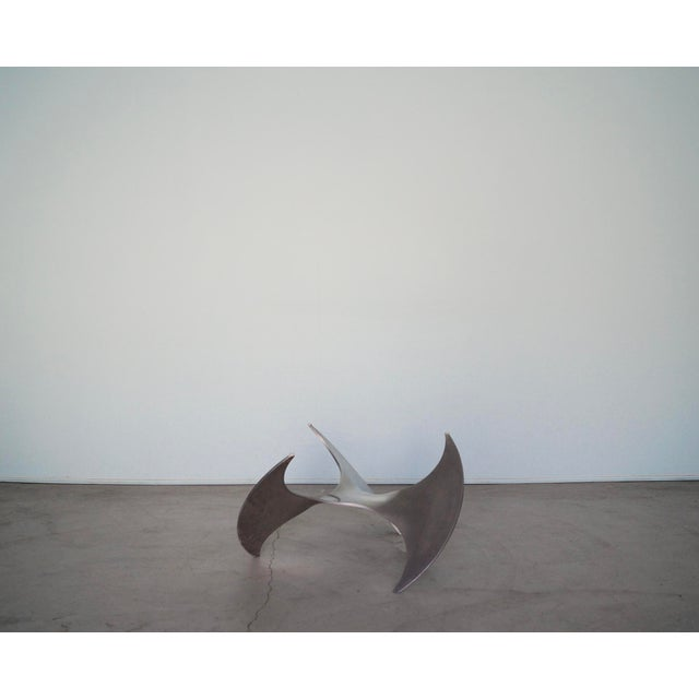 1960s Danish Modern Knut Hesterberg Propeller Coffee Table For Sale In Los Angeles - Image 6 of 13