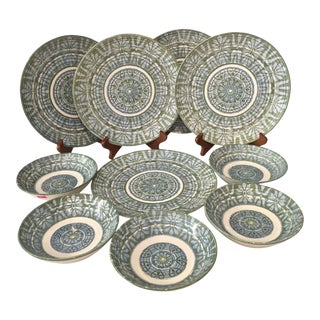 Royal-Ironstone Baghdad 10-Piece Bowls & Plates - Set of 5