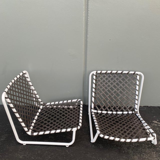1960s Brown Jordan Tamiami Sand Chairs- 2 Piece For Sale - Image 5 of 6