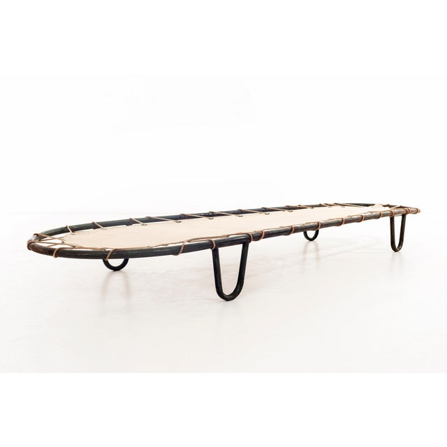 Mid-Century Modern Outdoor Chaise Lounge in the Style of Muriel Coleman For Sale - Image 3 of 11