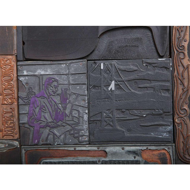 Multi Dimensional Wall Sculpture For Sale - Image 10 of 10