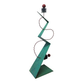 Jim Hunterheight Manner Abstract Geometric Sculpture For Sale