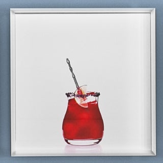 'Pomegranate Margarita' Limited-Edition Cocktail Portrait Photography For Sale