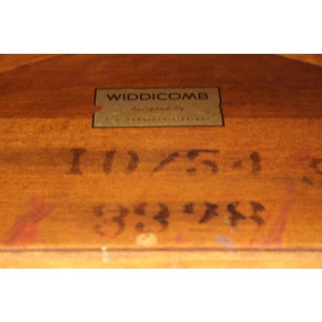 Wood Klismos Sabre Leg Table by T. H. Robsjohn Gibbings for Widdicomb For Sale - Image 7 of 13