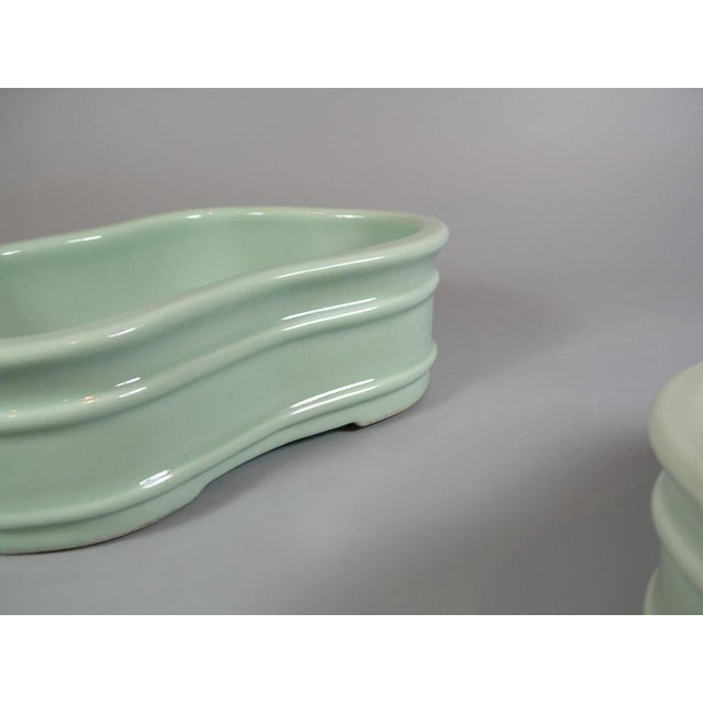 Late 19th Century 19th Century Chinese Celadon Butterfly Bowls - a Pair For Sale - Image 5 of 11