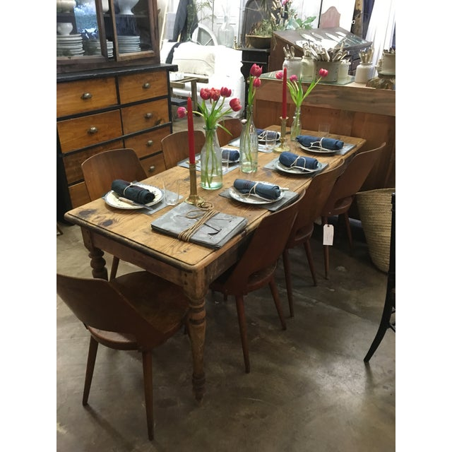 Vintage French Spindle Leg Table - Image 7 of 7