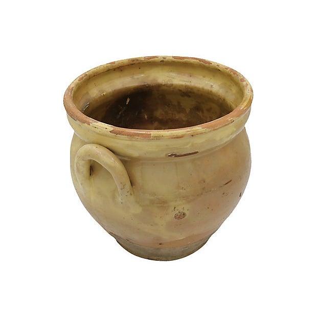 Antique French Stoneware Confit Pot For Sale - Image 4 of 6