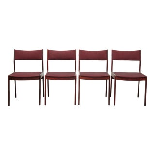 1960s Danish Rosewood Dining Chair - Set of 4 For Sale