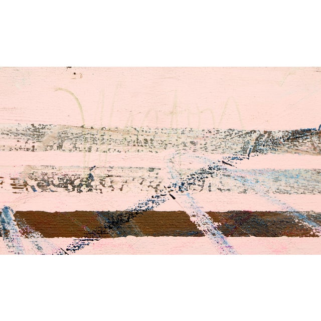 Artist: Richard Weston, American (1953 - ) Title: Hillsdale, Aug 14 Year: circa 1980 Medium: Acrylic on Canvas, signed...