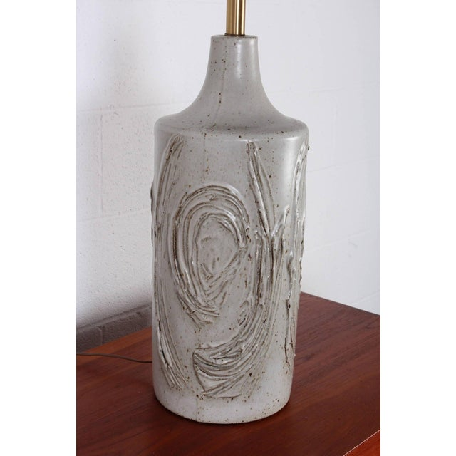 David Cressey Ceramic Table Lamp by David Cressey For Sale - Image 4 of 8