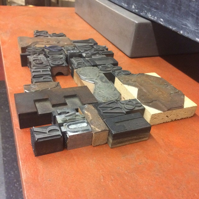 Print Letter Blocks - Set of 49 - Image 6 of 8