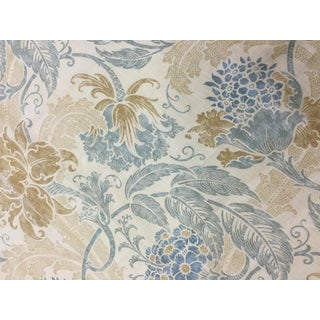 1980s Cottage Lee Jofa Linen Upholstery Fabric For Sale