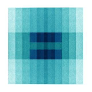 """Color Space Series 30: Ocean Blue Gradient"" Print Preview"