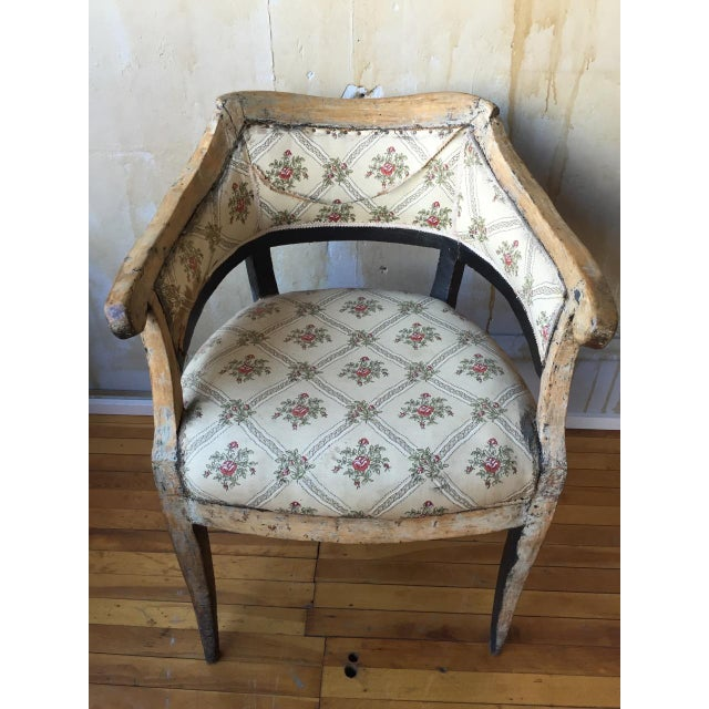Italian Antique Arm Chair For Sale In Kansas City - Image 6 of 10