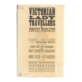"""1965 """"Victorian Lady Travellers"""" Collectible Book For Sale"""