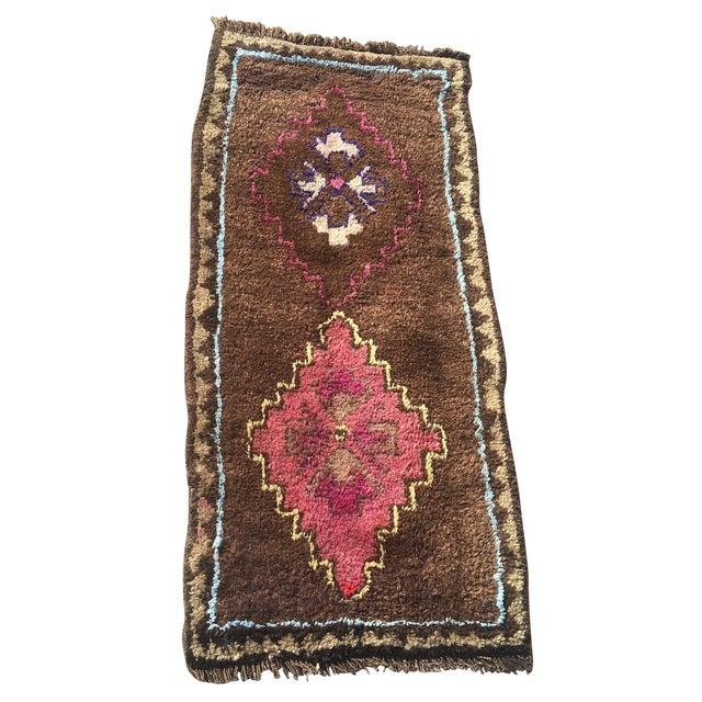 Vintage Anatolian Turkish Rug - 1′8″ × 3′6″ - Image 1 of 7