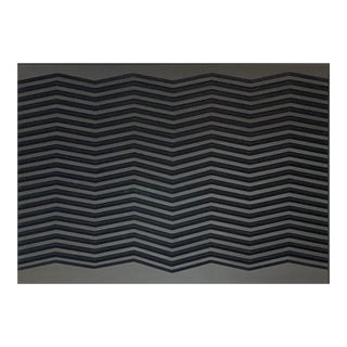 "Doug DaFoe ""Chevron Grey"", Wall Sculpture For Sale"