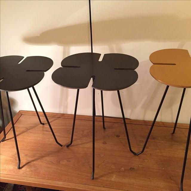 Vintage Clover Leaf Nesting Tables - Set of 3 - Image 7 of 11