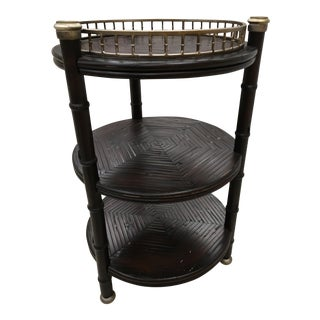 Brown Wood Talmadge Table