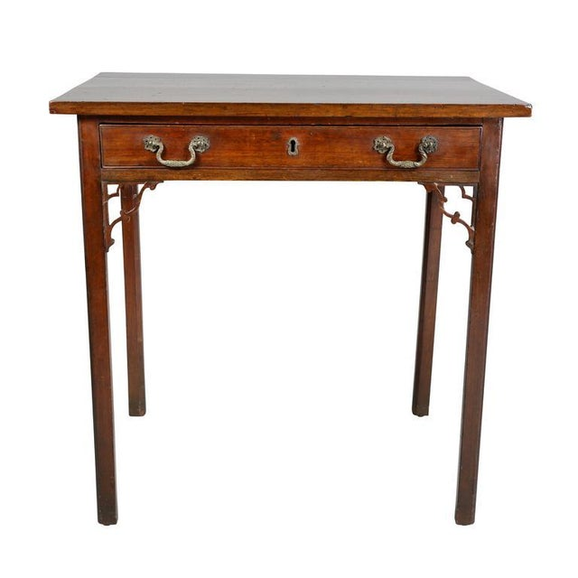 George III Mahogany Side Table For Sale - Image 9 of 9