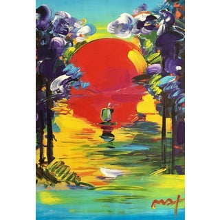 Peter Max Better World 2007 For Sale