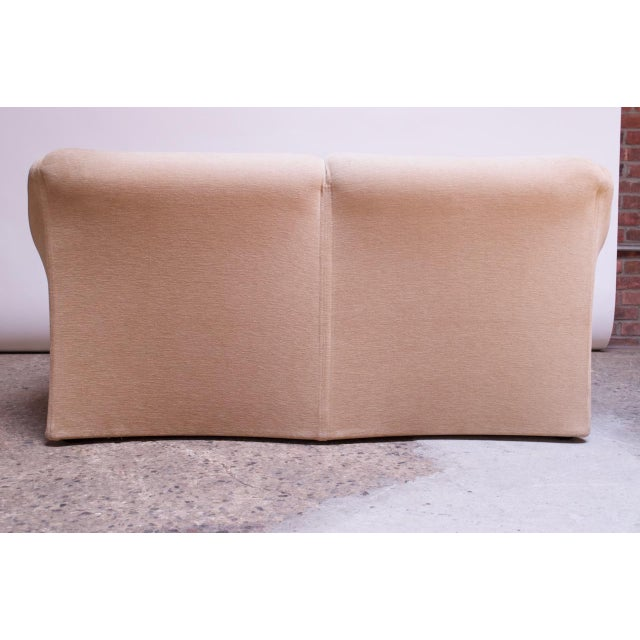 Textile 1970s Tentazione Loveseat Two-Seat Sofa by Mario Bellini for Cassina For Sale - Image 7 of 13