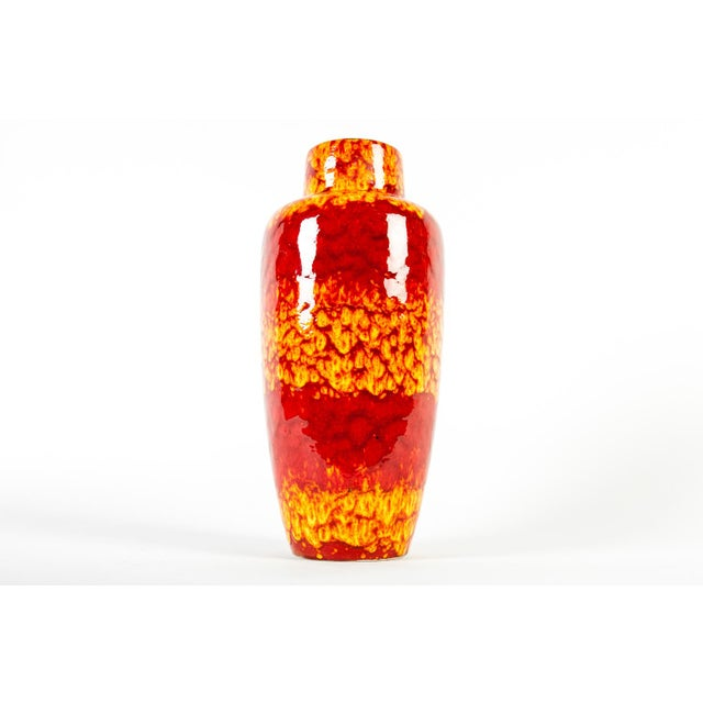 Vintage European Glazed Ceramic Decorative Piece / Vase. Just beautiful , this piece would bring a great addition of color...