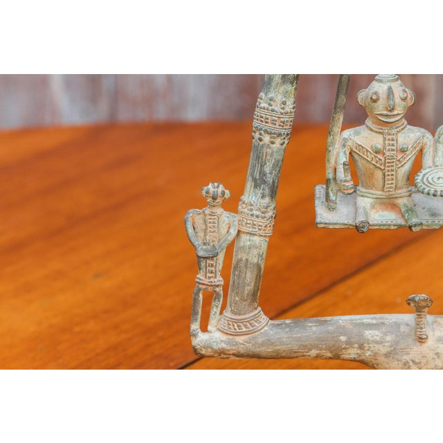 Tribal Bastar Figurines on Swing For Sale In Los Angeles - Image 6 of 11