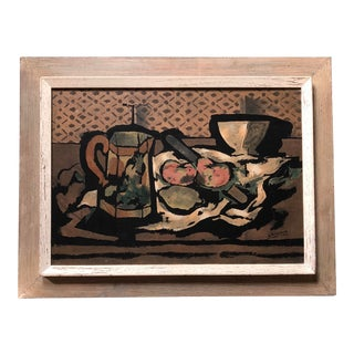 Vintage George Braque 1950's Framed Print For Sale