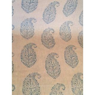 Peter Dunham Textile Kashmir Paisley Fabric For Sale